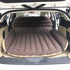 Image 5 - Lit de voiture gonflable pour Camping, matelas de voiture gonflable, coussin de voiture, Portable, pour voyage, pour SUV, 190x119x12.5CM
