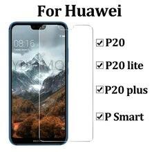 Proteção de vidro para huawei p20 lite para huawei p20 lite proteção de vidro p 20 plus psmart protetor de tela 2.5d temperado