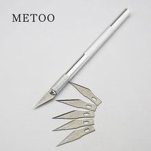 Ferramenta de reparo de celular 6 em 1, facas artesanais, ferramentas de faca + 5 peças, conjunto de ferramentas de reparo para redmi meizu huawei huawei