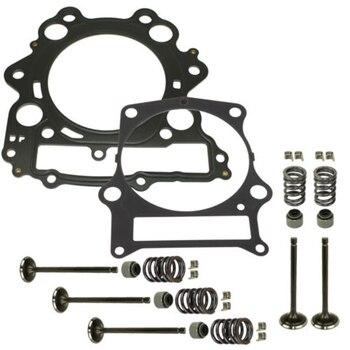 Haute qualité et tout nouveau Kit de soupape d'échappement d'admission de cylindre de moteur de moto pour YAMAHA RAPTOR 660R YFM660R 4X4 2001-2005