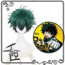 My Boku no Hero Academia Izuku Midoriya Short Green Black Heat Resistant Cosplay Costume