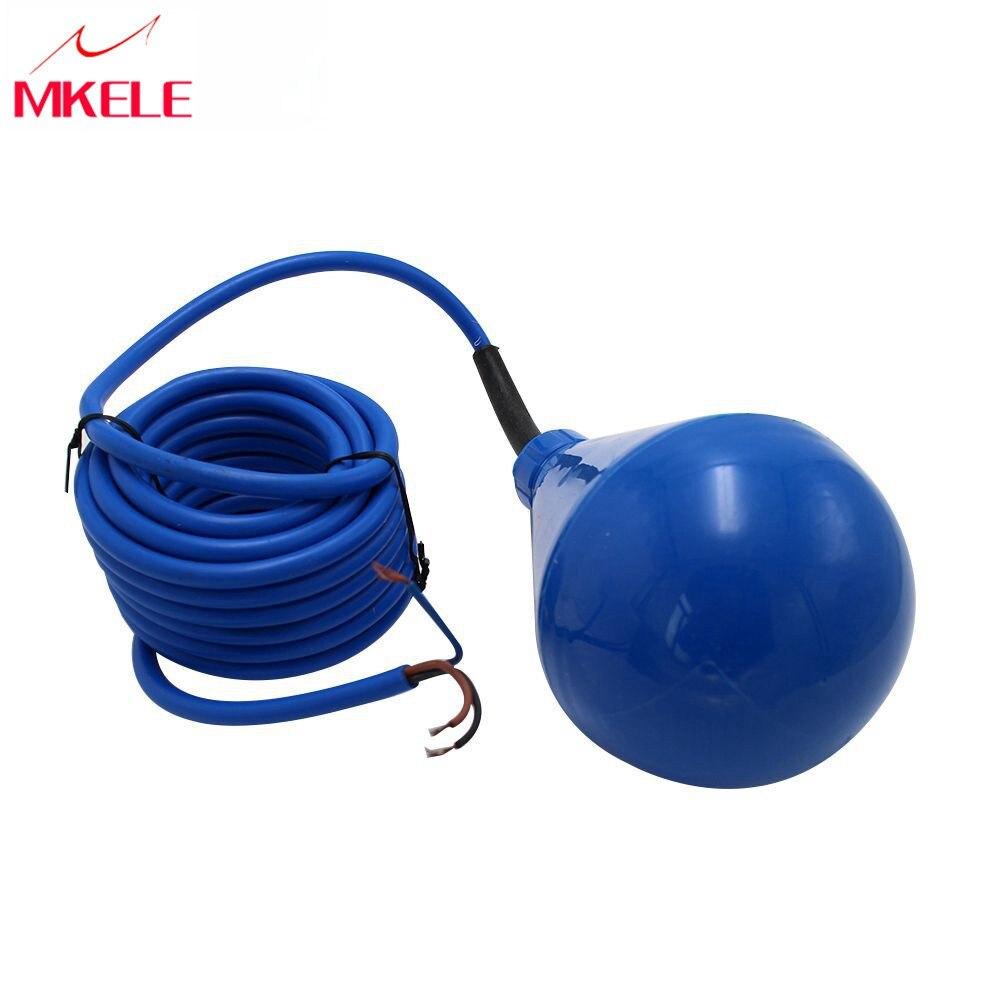 Type de câble d'interrupteur à flotteur de 5 mètres MK-CFS11 de contrôle du niveau d'eau pour capteur de débit de réservoir d'eau