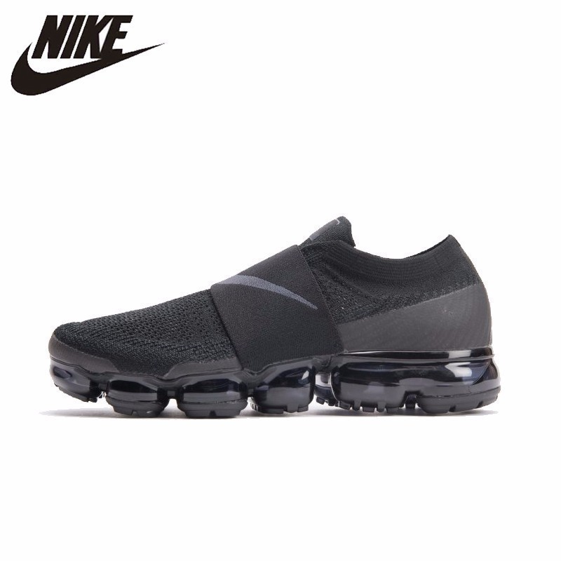 NIKE Vapor Max Moc Ar Oficial Original Running Shoes Malha Respirável Sapatos Ao Ar Livre Confortáveis Tênis Para Homens # AH3397-004