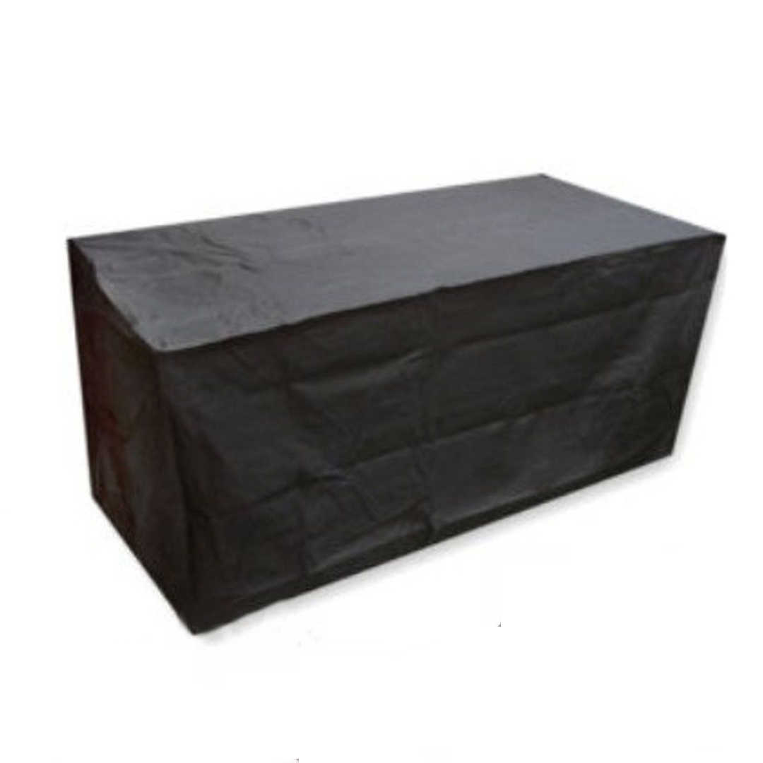 180*120*74cm Outdoor Garden Protective Cover Waterproof Furniture Cover Seat Table Black Dustproof Cover Mayitr