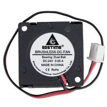цены на 200 pieces/ lots Gdstime Ball 3010 Blower 30MM 30x30x10MM 24V 2Pin DC Cooler Small Cooling Fan FOR 3D PRINTER PART  в интернет-магазинах