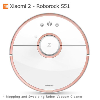 Xiao mi mi Roboter Vakuum 2 Generation Roborock S50 Nass Wischen Kehr Reiniger Original Xiao mi mi hause mi jia APP Control S51 S55