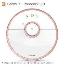 Xiaomi Mi Робот Пылесос 2 Поколения Roborock S50 Мокрая Швабра Подметальная Очиститель Оригинальная Китайская Версия Mijia APP Control S51 S55