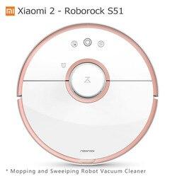 Xiaomi aspiradora Robot Roborock S50 mojado limpiando barrido Robot aspiradora Mijia Mihome APP Wifi Control remoto S51 S55