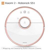Xiaomi Mi Робот Пылесос 2 Roborock S50 Поколения Мокрая Швабра Подметальная Очиститель Оригинальная Китайская Версия Mijia APP Control S51 S55