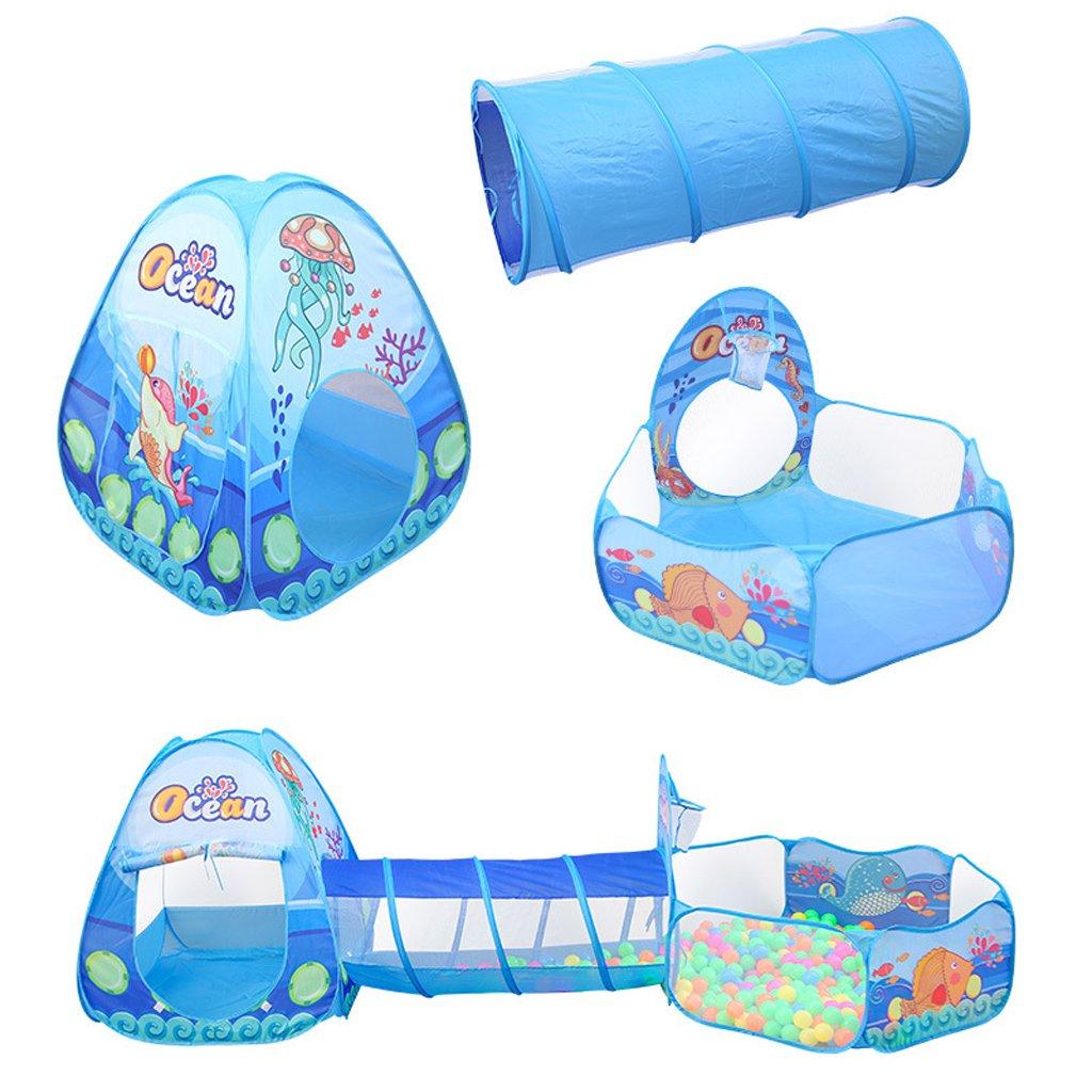 3 en 1 pliable jouet jeu tentes enfants enfants tente avec piscine à balles Tunnel enfants jouer maison tente ramper jouets pour bébé enfant en bas âge