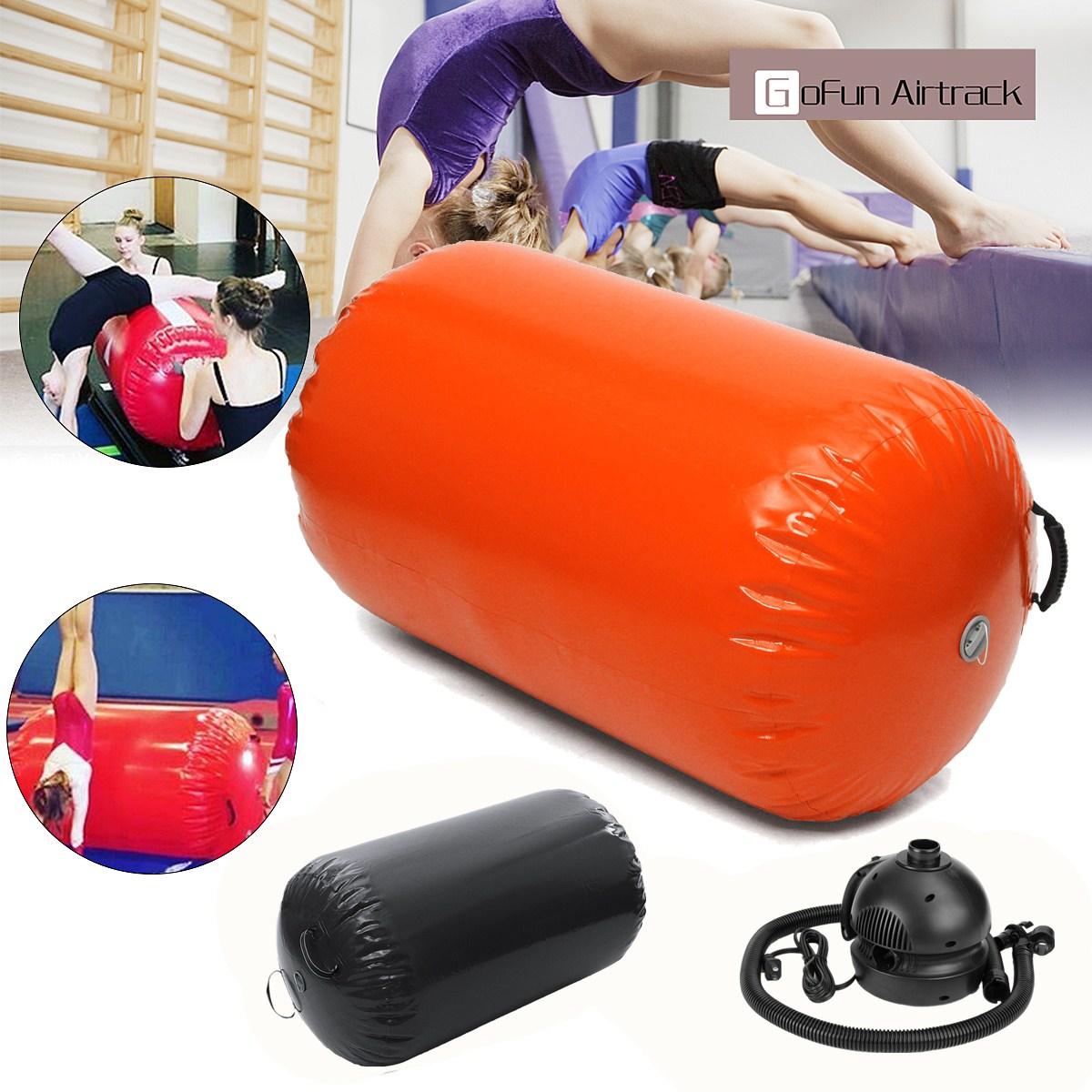 Gofun AirTrack Air cylindre Tumbling piste gymnastique exercice colonne gonflable Gym inversé Backflip entraînement enfants en sécurité - 2