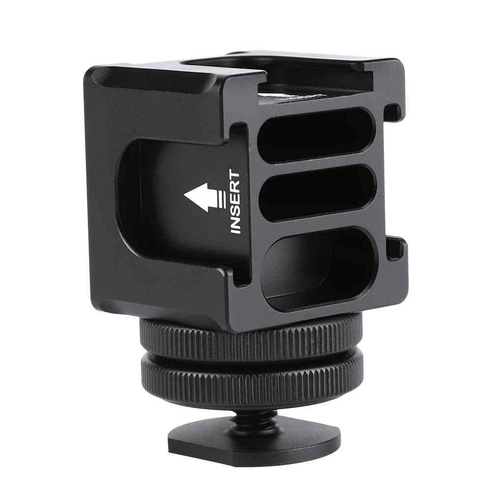 FS-04 камера вращающийся PT Четыре головы многофункциональный Горячий башмак кронштейн горячий башмак