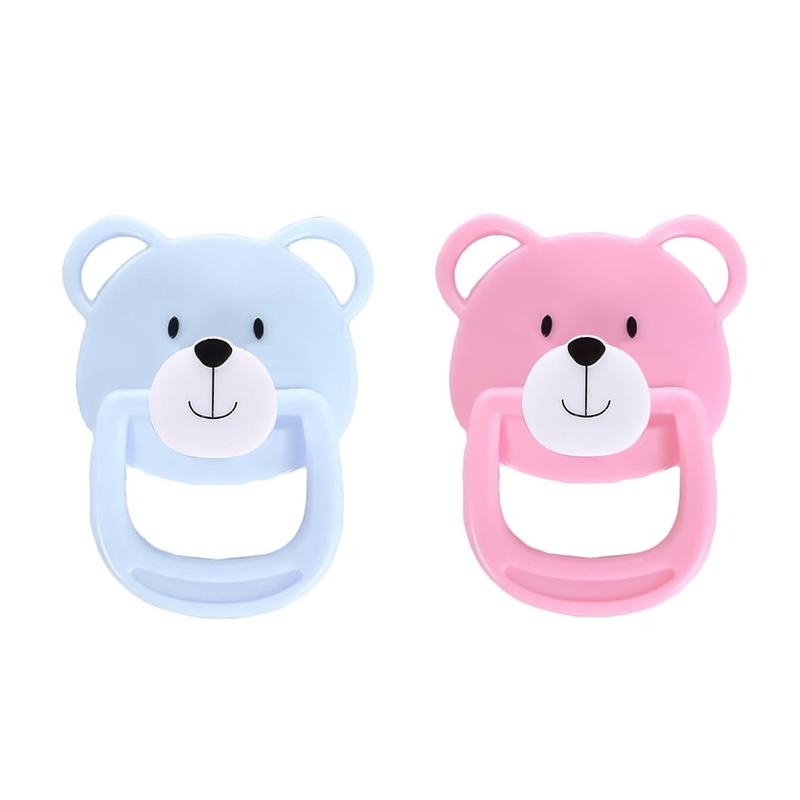 1 PC Brand New Lovely Doll Magnet Pacifier Doll Accessories Doll Supplies Dummy Nipples Magnet For New Reborn Baby Doll Kids Toy
