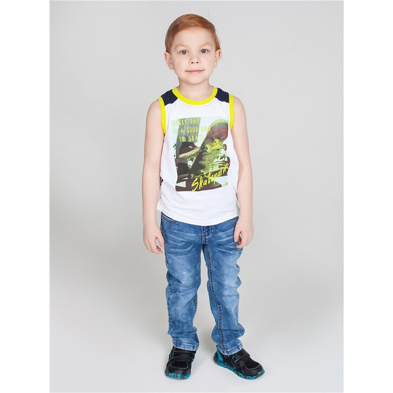 T-Shirts Sweet Berry T-shirt knitted for boys children clothing kids outfits letter pattern t shirts in white