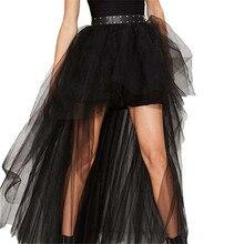 купить Black Swallowtail Skirts Vintage  Gothic Clothing Plus Size Steampunk Skirts Punk Style Women Long Burlesque Corset Skirt дешево