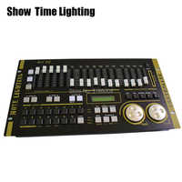 Самое время для Max 512 DMX контроллер сценического светильник MAX 512 мастер консоль для XLR-3 led par лампа с подвижной головкой светильник сценически...