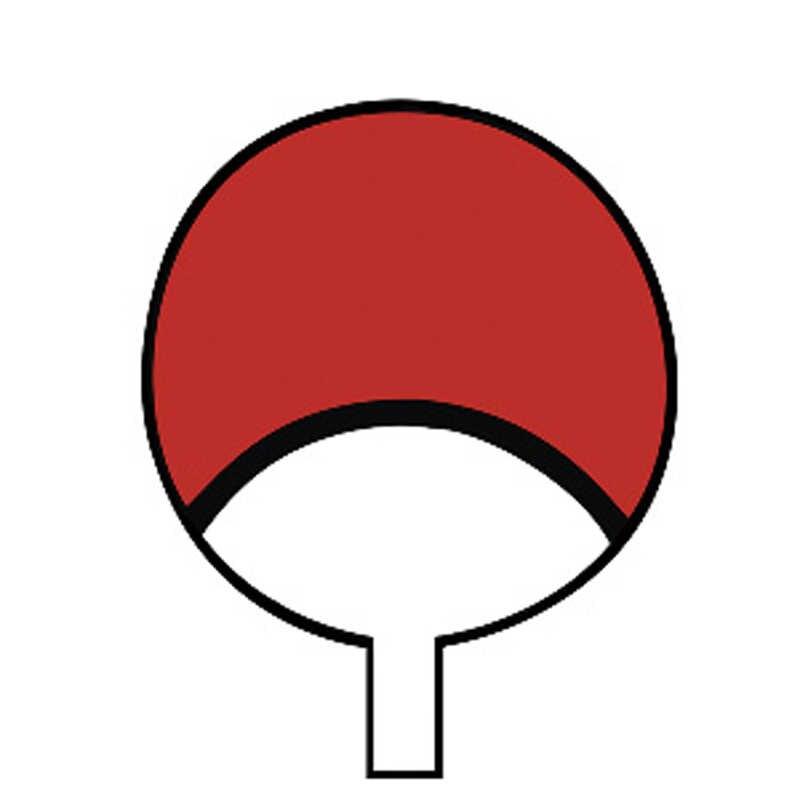 Наруто Косплей Учиха аниме мультфильм логотип реквизит водостойкая анимация мультфильм логотип временные наклейки-татуировки наклейки XR164
