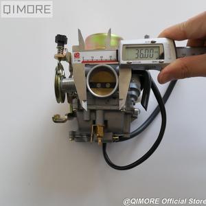 Image 5 - Pull Down Type CVK30 Carburateur Met Verwarming Voor AN250 Skywave / Burgman Linhai Aeolus Vog 260 300 Tank 260 YP250 Xingyue 260