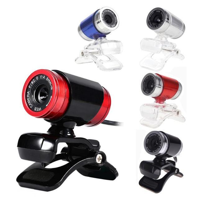 Webcam USB 12 Megapixel Máy Ảnh Độ Nét Cao Web Cam 360 Độ MIC Clip-on Cho Skype Máy Tính Máy Tính Để Bàn Cao máy Ảnh chất lượng