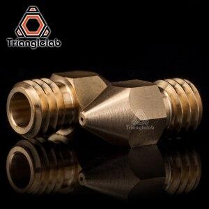 Image 3 - Trianglelab Super hohe qualität Zortrax Messing Düse für Hotend Kit Zortrax M200 M300 3D drucker 1,75 MM Schraube gewinde M6 EXtruder