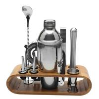 550ml Stainless Steel Cocktail Shaker Bar Set Wine Martini Drinking Mixer Boston Style Shaker For For Party Bar Tool