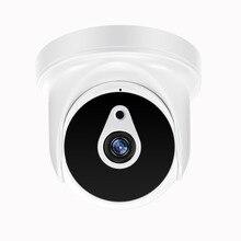 Yiispo ahd 720 p 1080 p ir mini câmera dome 1.0mp2.0mp 5mp ahd câmera interior ir corte visão noturna cctv câmera de segurança