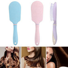 1 pc Cute Straw Airbag Cushion Comb Plastic Household Head Meridian Comb Hair Combing Plastic Anti-Static Combs