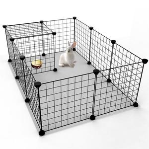 Image 5 - Multifunctional Black Metal 35x35cm Mesh Combination Storage DIY Cube Wardrobe And Modular Shelf Net Wire Mesh Shelf And Shelf