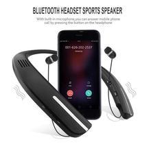 Neck Speaker Hanging Wireless Bluetooth Speaker Wearable MP3 Player Subwoofer Bass Magic Portable Sports Speaker Stereo