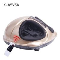 KLASVSA Electric Shiatsu Foot Massager Far Infrared Heating Kneading Air Compression Reflexology Massage Device Home Relaxation