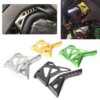 CNC Aluminum Motorbike Fuel Injection Injector Cover Protector Guard for Kawasaki Z1000 2014 2015 2016