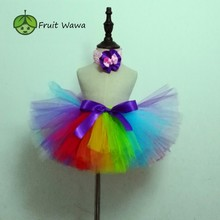 Unicorn Tutu Skirt  Ball Gown Rainbow Girl Ballet Dance Party Costume Clothing Baby Birthday