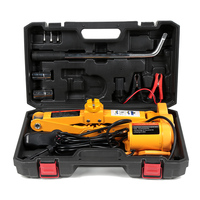 12V 2T Car Electric Jack Lifting Set Auto Scissors Lifting Repair Machine Tire Replacing Tool with the Car Charger