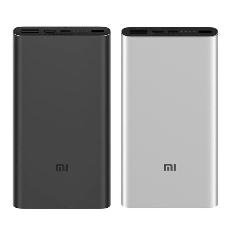 Xiaomi <font><b>Power</b></font> Bank 3 10000 mAh Externe Batterie Pack Dual <font><b>USB</b></font> Schnelle Lade Ladung 3,0 für IOS Android-Handy <font><b>Power</b></font> bank image