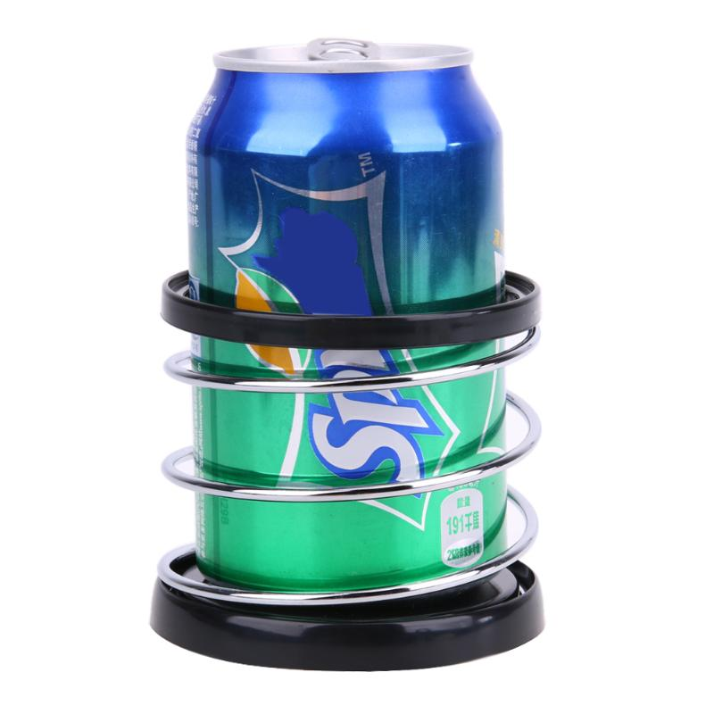 Image 2 - Creative Folding Auto Car Drink Holder ABS+Wire Automotive Mount Holder Stand Car Cup Holder Organizer Universal Car Styling-in Drinks Holders from Automobiles & Motorcycles