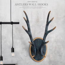 Wall hooks for hanging Clothes coats wall stand keys hanger Resin Antlers home decorations
