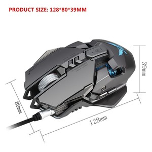 Image 5 - Wired Gaming Mouse 3200 DPI USB Professional Gaming Mechanical Mice 7 key Macro Definition Programming Game Mice For Pc Game