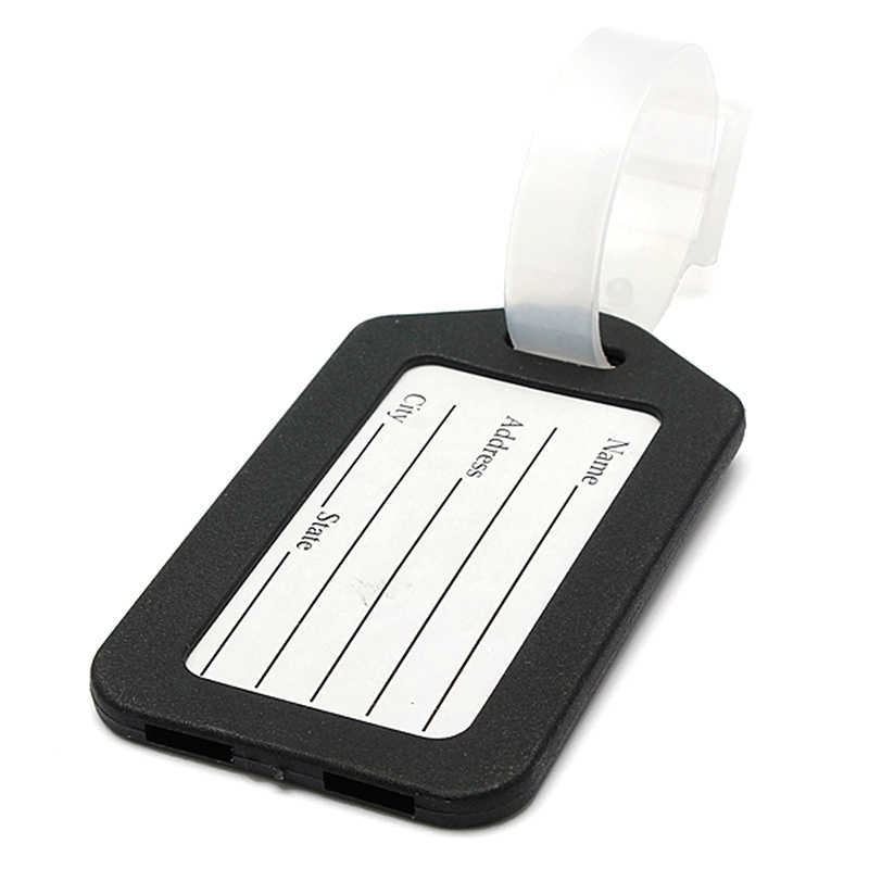 Luggage Tag Plastic Luggage Tag