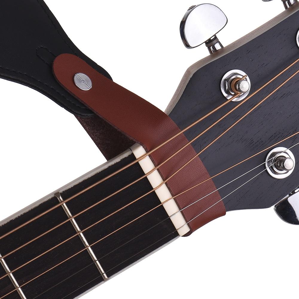 hot guitar accessory kit acoustic guitar neck strap guitar rubber lock guitar picks holder. Black Bedroom Furniture Sets. Home Design Ideas