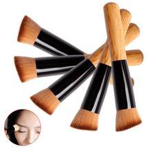 BearPaw Makeup Brown Brush Fashion Women Powder Oblique Conc