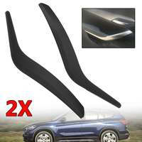 Black Car Front/Rear Left/Right Interior Inner Door Card Handles Pull Carrier Covers Plastic For BMW X1 E84 2010 16