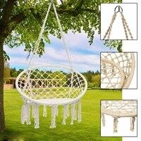 Nordic Стиль гамак, фурнитура качалками для наружного гамак для использования в помещении для сада общежитии ребенок взрослый висит стул
