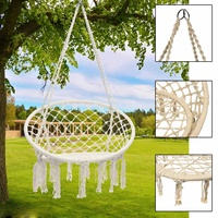 Nordic Style Hammock Furniture Swing Chair for Outdoor Indoor Hammock for Garden Dormitory Child Adult Hanging Chair