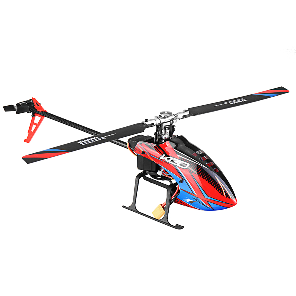 XK K130 2.4G 6CH Brushless 3D6G System Flybarless Remote Control Helicopters BNF RTF RC Helicopter For FUTABA S-FHSS 3 Batteries image