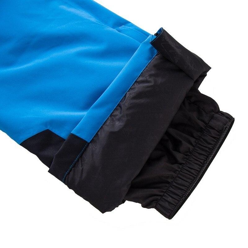 Pantalon de Ski Extra épais salopette Sport de neige chaud hommes pantalon d'hiver femmes combinaison de Ski Snowboard vêtements de plein air imperméable 2019 nouveau - 5