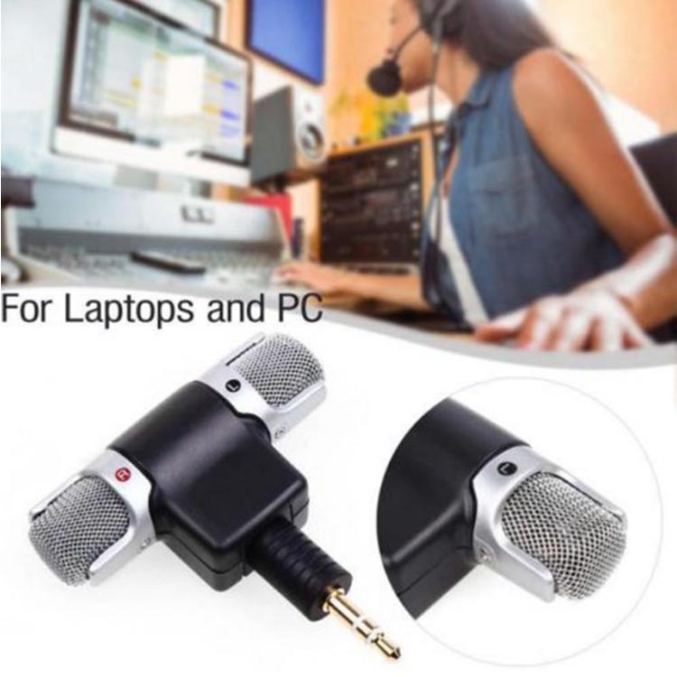 New Mini Stereo Microphone Digital Mic 3.5mm Interface Mini Jack For PC Laptop Notebook Mobile Phone