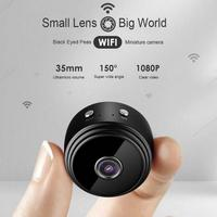 A9 1080P HD WIFI Camera Magnetic Night Vision Mini Camera Portable Outdoor Sport Cam Security Motion Detection Video Camcorder