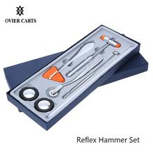 5Pcs Multifunctional Percussor Diagnostic Reflex Percussion Hammer Set Medical Neurological Massage Hammer Kit Health Care