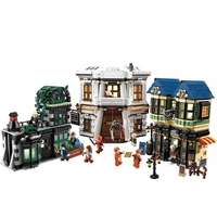 the diagon alley legoing harry potter 16012 MOC Movie series Set potter Building Blocks Bricks legoings harry potter 10217
