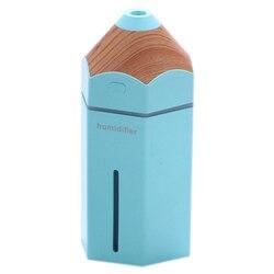 Ołówek nawilżacz USB ultradźwiękowy nawilżacz powietrza do aromaterapii LED Light rozpylacz zapachów Mist Maker Fogger Mini oczyszczacz powietrza samochodu
